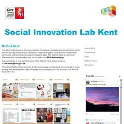 Social Innovation Lab Kent: Method Deck