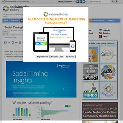 Social Timing Insights [Infographic]