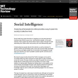 an essay on social intelligence The first major accomplishments of artificial social intelligence  the authors of the present review essay the workshop was charged to answer three questions: (1.
