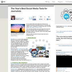 The Year's Best Social Media Tools for Journalists