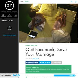 Is Social Media Killing Your Marriage?