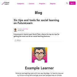 6 tips and tools for social learning on FutureLearn