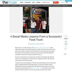 4 Social Media Lessons From a Successful Food Truck