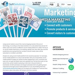 How can help Social Media Marketing in my Business