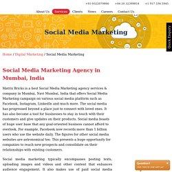 Matrixbricks Infotech: Best Social Media Marketing Company in Mumbai