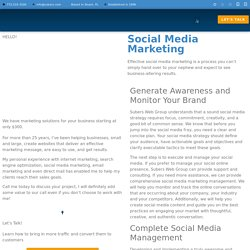 Increase your business fame by social media marketing