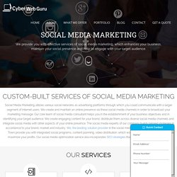 Best Social Media Marketing (SMO) Services in Cape Town