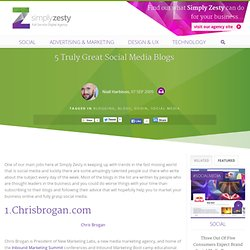 5 of the best social media and marketing blogs that you should r