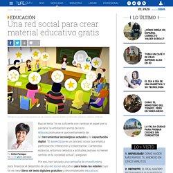 Una red social para crear libros de texto y material educativo gratis
