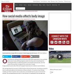 How social media affects body image - The Crimson White