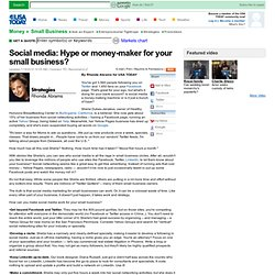 Social media: Hype or money-maker for your small business?