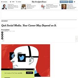 NYT 19/11/16 - Para ser productivo date de alta en las redes sociales