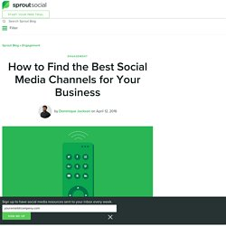 Best Social Media Channels for Your Business