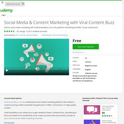 Social Media & Content Marketing with Viral Content Buzz