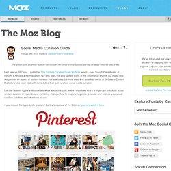 Social Media Curation Guide