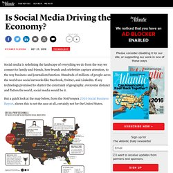 Is Social Media Driving the Economy? - Richard Florida - Technology