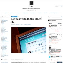 Social Media in the Era of ISIS