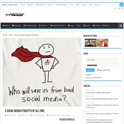 5 Social media etiquette of all time – 99Whoop.com