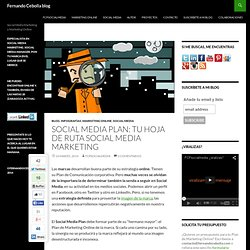 Social Media Plan - Fernando Cebolla blog
