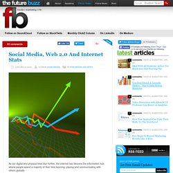 49 Amazing Social Media, Web 2.0 And Internet Stats