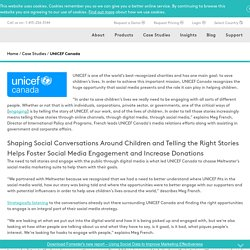 Social Media Monitoring Case Study, UNICEF