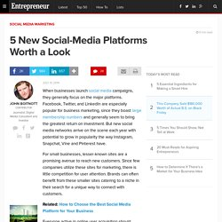 5 New Social-Media Platforms Worth a Look