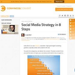 Social Media Strategy in 8 Steps
