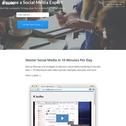 Find Your Social Media Success With Buffer