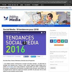 Social Media : 10 tendances pour 2016