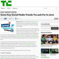 Some Key Social Media Trends To Look For In 2012