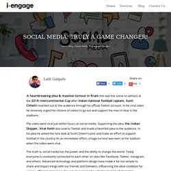 Social media: Truly a game changer!