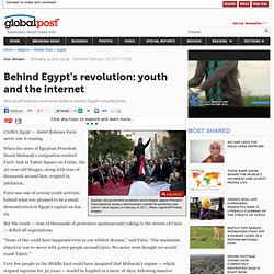 Social Media | Youth | Egypt Revolution