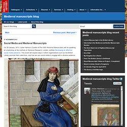 Social Media and Medieval Manuscripts