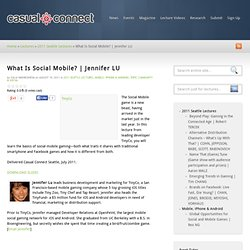 What Is Social Mobile?