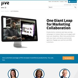 Social Media Monitoring Solutions - Jive Software