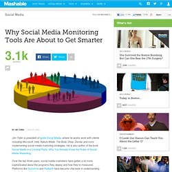 Why Social Media Monitoring Tools Are About to Get Smarter