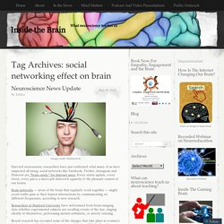 social networking effect on brain