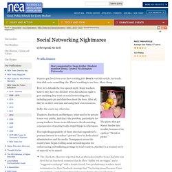 Social Networking Nightmares