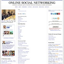 Socia Networking SItes, Social Media Sites and Other Links