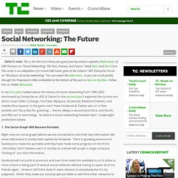 Social Networking: The Future