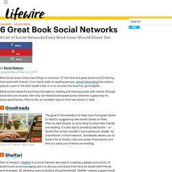 List of Social Networks About Books and Reading