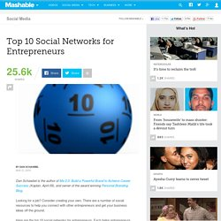 Top 10 Social Networks for Entrepreneurs