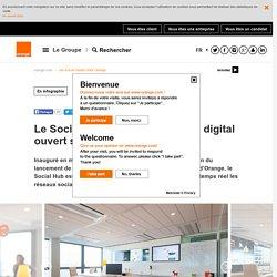 Le Social Hub, un nouvel espace digital ouvert sur le monde