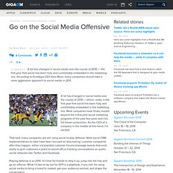 Go on the Social Media Offensive