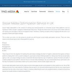 Social Media Optimization Service in UK– YNG Media