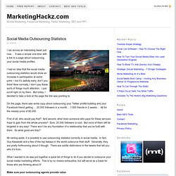 Is It Possible To Outsource Social Media? | MarketingHackz - Flo