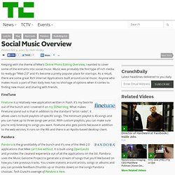 Social Music Overview