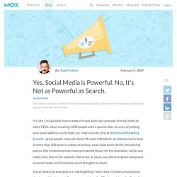 Yes, Social Media is Powerful. No, It's Not as Powerful as