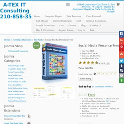 Social Media Presence Free – A-TEX IT Consulting 210-858-3593