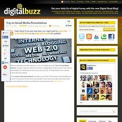 Top 10 Social Media Presentations